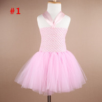 fashion crochet girls red ivory blue coral hot pink white infant tutu dress for toddlers