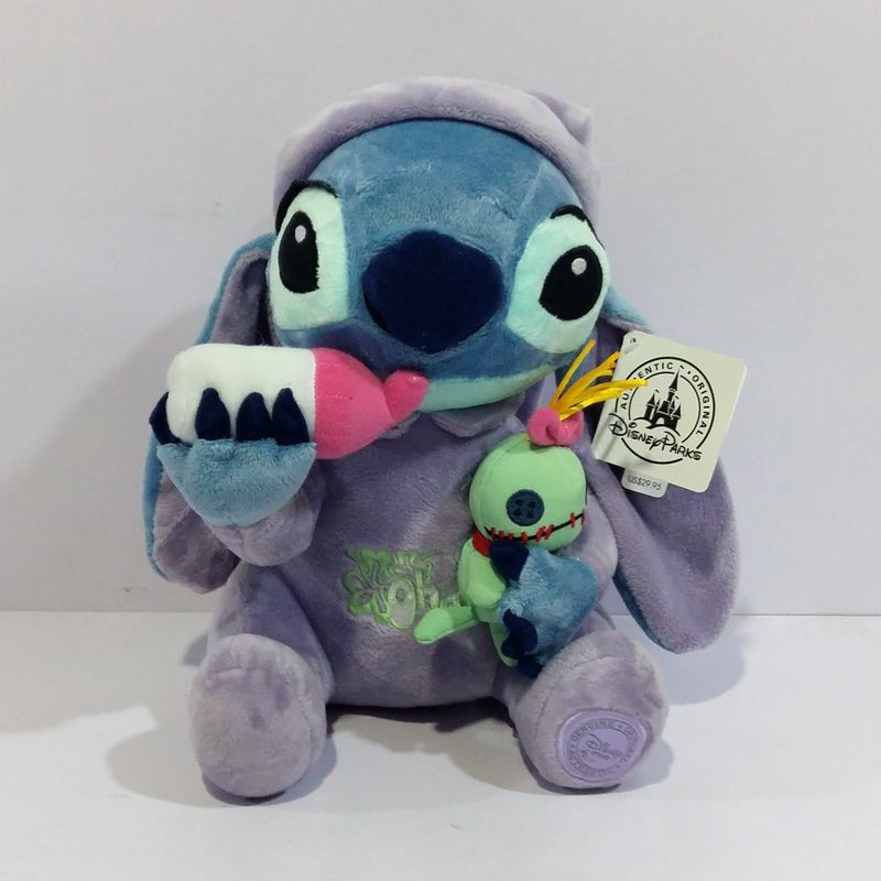 NEW Lilo & Stitch Plush Toys Plush Toys Stich Holding Scrump Soft Stuffed Animal Dolls Kids Toys 26 CM fancytrader new style giant plush stuffed kids toys lovely rubber duck 39 100cm yellow rubber duck free shipping ft90122