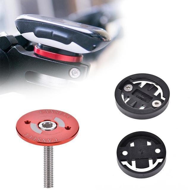 Fiets Computer Houder Stem Top Cap Stopwatch Beugel voor Garmin 1000/820/810/800/520 /510/500/200 Bryton R530/R330/R310/R100