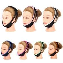 Smalkas sejas pacelšanas rīki 7 krāsas vīriešiem sievietes sejas pacelšana novājēšanu masāža miega novēršana krākšana galvassegas zoda žokļa atbalsta siksna