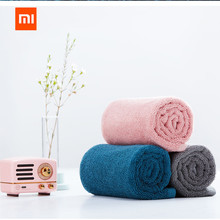 XIAOMI Mijia 32 x 70cm Towel 100% Cotton 5 Colors Strong Water Absorption Bath Soft and Comfortable Beach Face Hand Towels