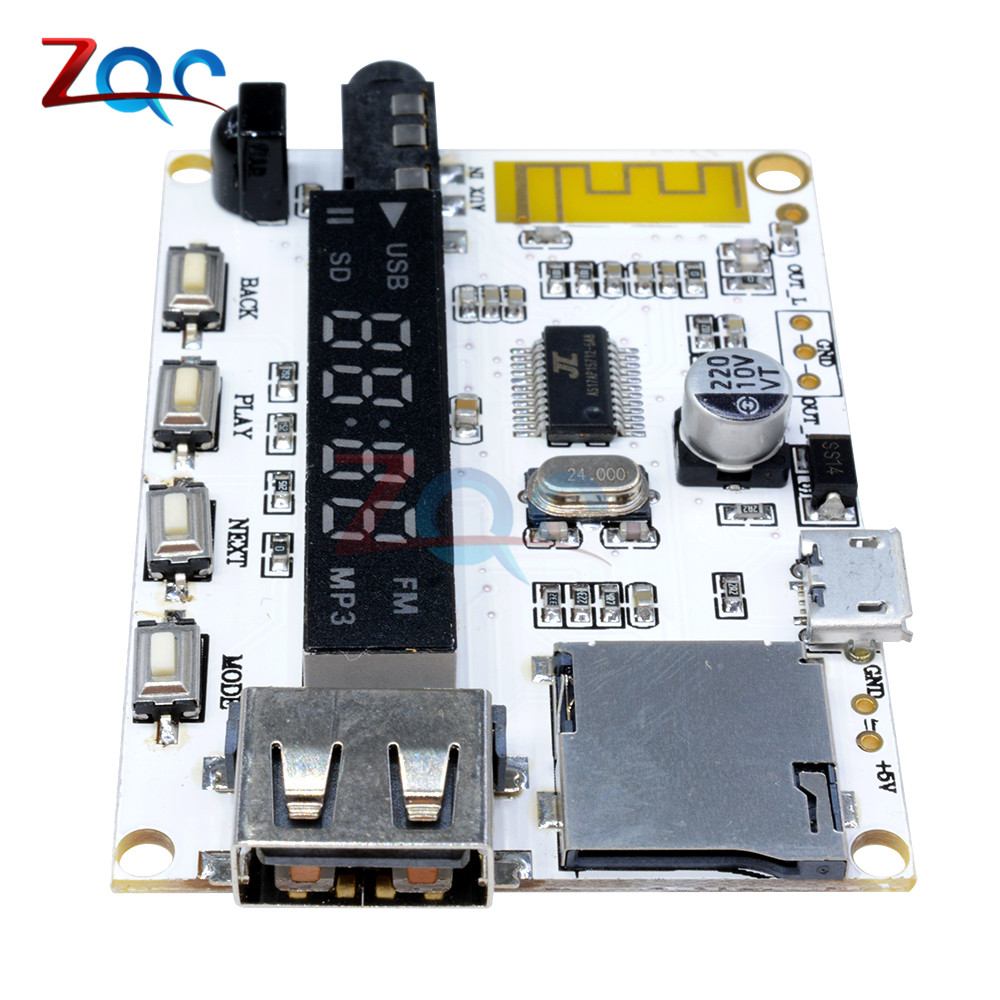 24 Weeks Bluetooth Mp3 Decoder Board Decoding Player Module Fm Meter Lcr Gm328a Test Clip For Sale Electroniccircuitsdiagrams Addthis Sharing Buttons