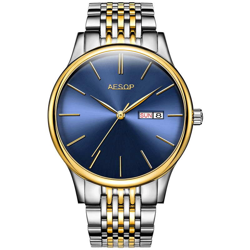 2018 Luxury brand AESOP Simple Men Watch Automatic Mechanical watches Thin Wristwatch Sapphire Crystal business watches for men