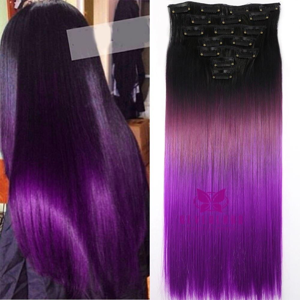 Popular Purple Black Hair Styles Buy Cheap Purple Black Hair Styles Lots From China Purple Black