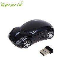 Carprie mouse sem fio 3 botões óptico 1200 dpi usb scroll computador ratos para tablet portátil 20j transporte da gota