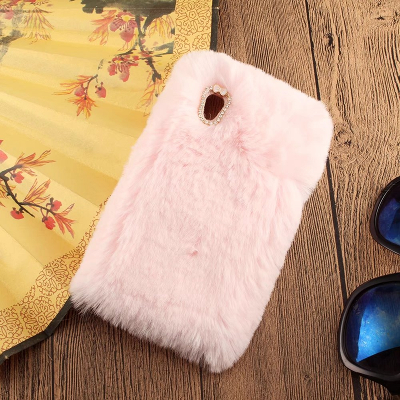 Plush Phone Etui For Coque Sony Xperia XA1 Case Plus Soni Experia XA1 Soft Hairy Back Cover For Sony Xperia XA1 Plus Capinha