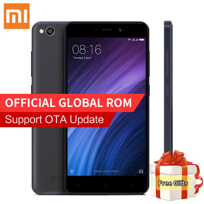 Original Xiaomi Redmi 4A Pro Smartphone 2GB 32GB Snapdragon 425 Quad Core 13MP Camera 4G FDD LTE 4 A Mobile Phones OTA Update CE