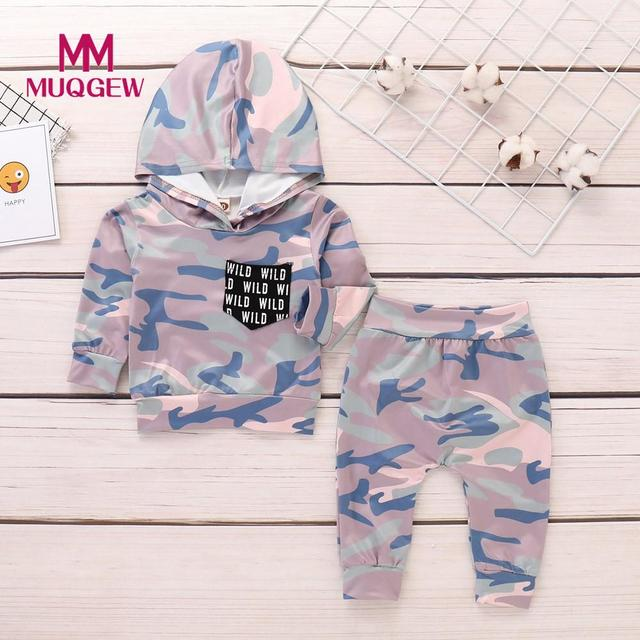 1617c7658 MUQGEW 2018 New Infant Toddler Newborn Baby Boy Clothes Camouflage ...