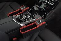 2018 Multifunctional Kraft Paper Box Storage Box Leather Case Car Seat Slit Storage Boxes Advanced Car