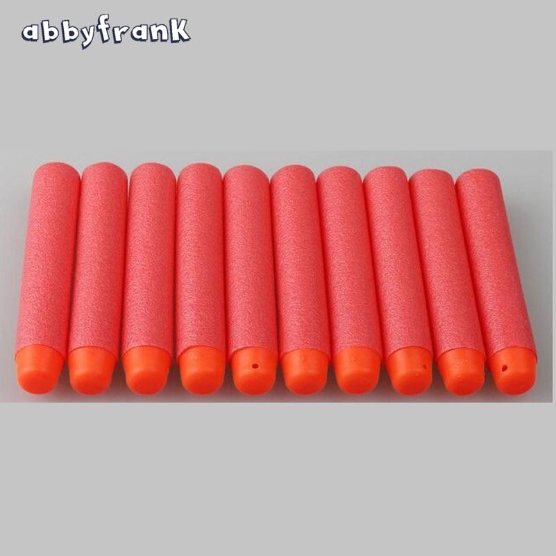 Abbyfrank 60 Pcs Soft Toy Gun Refill Whistler Darts Sniper Large Bullet Desert Eagle Series Mega