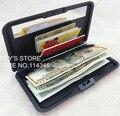 Multifunctional ALUMINUM  CARD Holder+WALLET ID CARD HOLDER BUSINESS CARD CASE