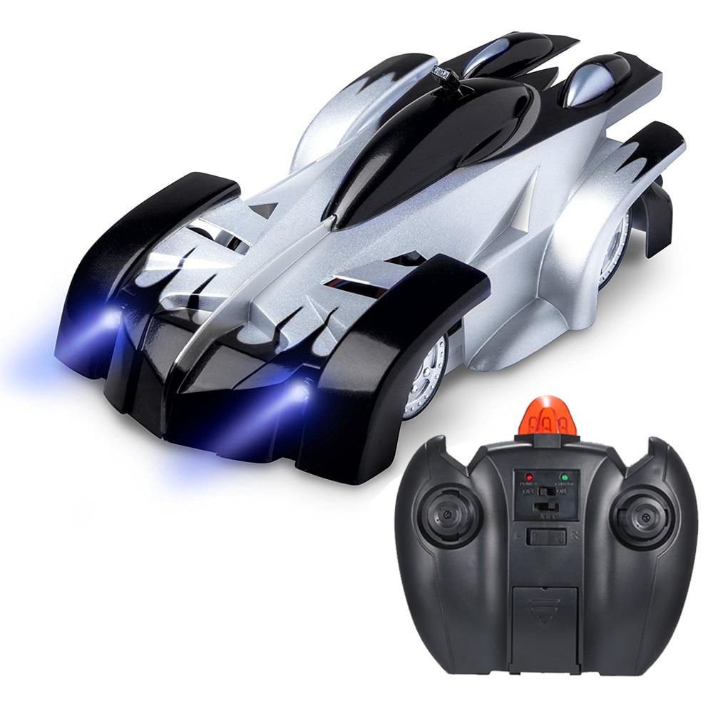 2018 nuevo RC escalada coche de Control remoto Anti Gravedad de techo coche de carreras juguetes eléctricos automático de la máquina de regalo para los niños RC Coche