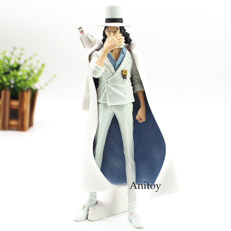 One Piece Figure One Piece Anime Rob Lucci Action Figure CP9 CP0 Toy Gift 21cm bandai фигурка o p the naked op calendar vol 1 rob lucci a black pants ver 12 см