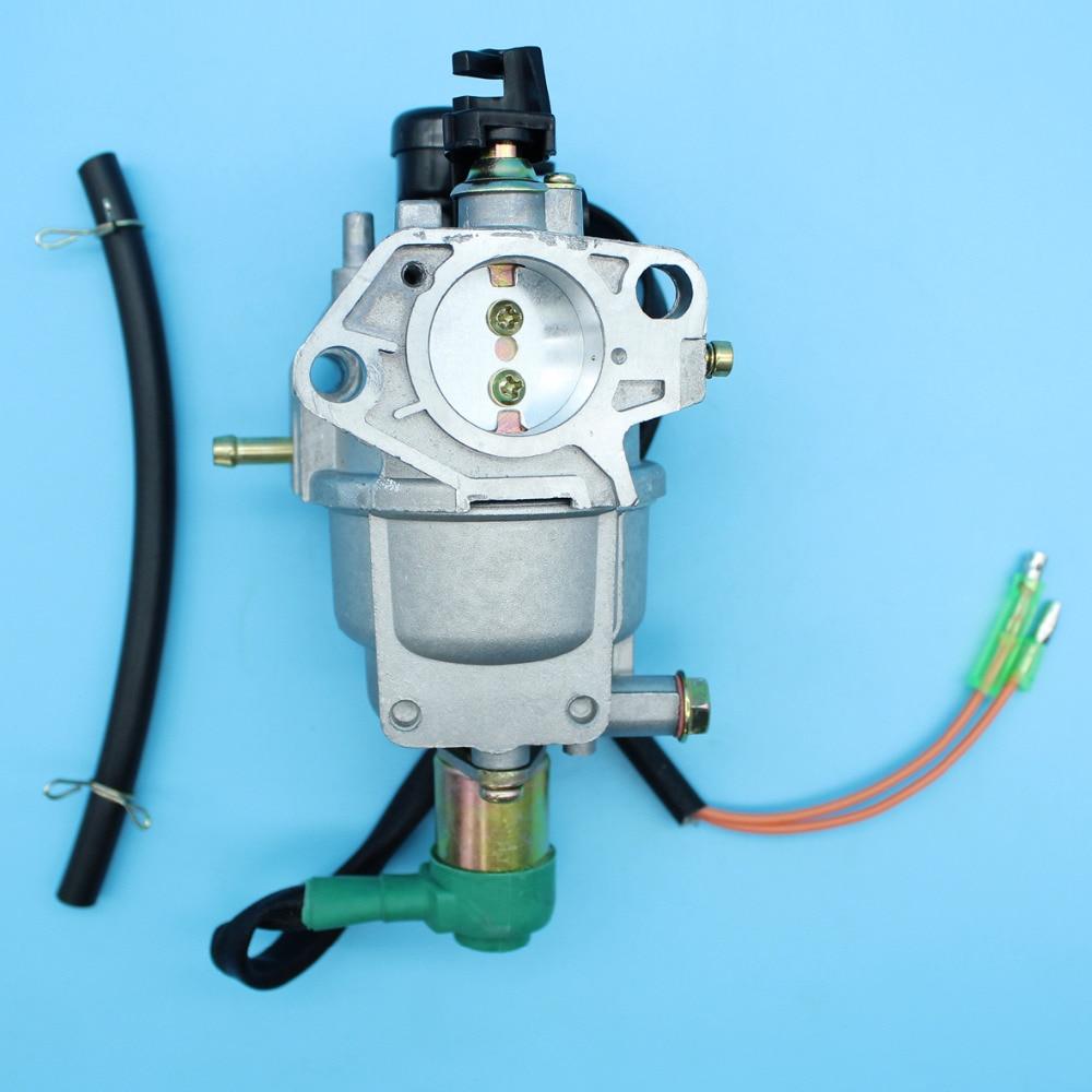 Carburetor Carb Assembly Fuel Line For Honda GX390 GX240 GX270 GX340 188F 190F 13HP 11HP 8HP 9HP 89cc 401cc Gasoline Generator стоимость