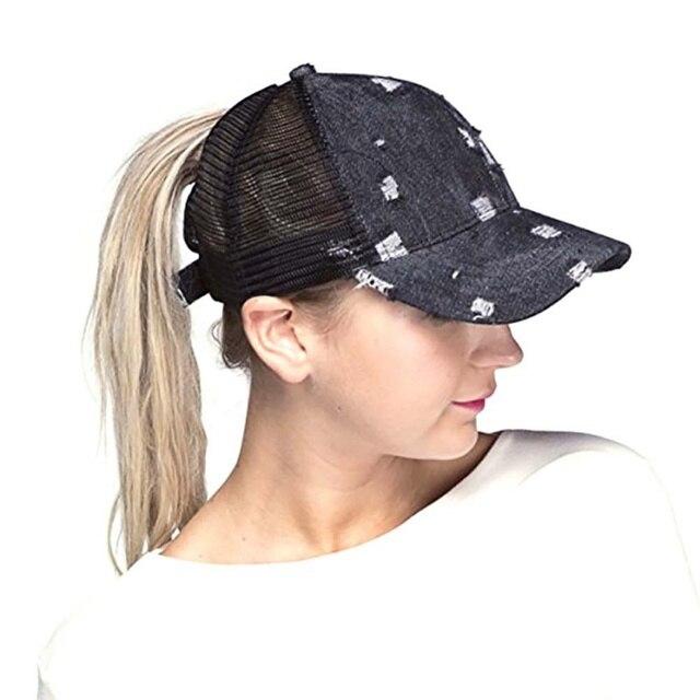 Outdoor Ripped Denim Style Cotton Hiking Cap Men Women Sunshade Headwear Hat  Sportswear Accessory Hot Sale 7f5a767e2f