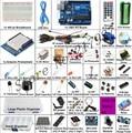 Impressora 3d Starter Kit para arduino Uno R3-R3 Uno Placa De Ensaio e suporte do Motor de Passo/Servo/1602 LCD/jumper/UNO R3/usb