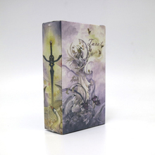 new high quality tarot cards game 78 cards deck raindrop water proof free shipping tarot board game