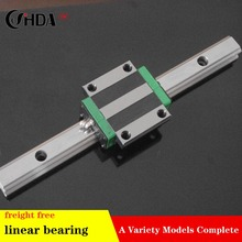 freight free 2Pcs Linear guide + 1Pcs  linear sliders  HGH55CA HGH65HA GW55CA  HGW65HA standard CNC parts 1pcs linear guide rail hgr30 700mm 2pcs hgh30ca linear narrow blocks for cnc router parts made in china