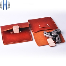 Leather Case EDC Storage Bag Anti-pressure Bag With The Money Storage Bag Pocket Small Things Finishing Package