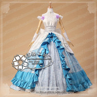Sword Art Online SAO ALO Asuna Card Wedding Dress Cosplay Costume Luxury Party Dress Uniform Outfit Custom made