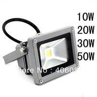 Fabrika fiyat toptan 10 W LED Açık spotlight downlight Su Geçirmez ve toz geçirmez sel ışıkları Ücretsiz nakliye