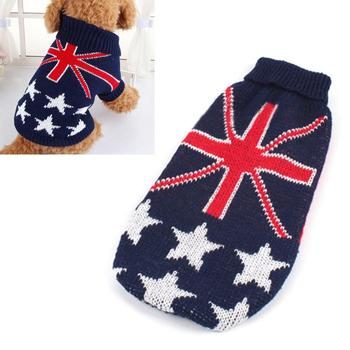 Printed Pet Sweater Warm Jumper Knit Sweater Clothes For Cat Dog Clothes Costume High Quality Drop Shopping 1