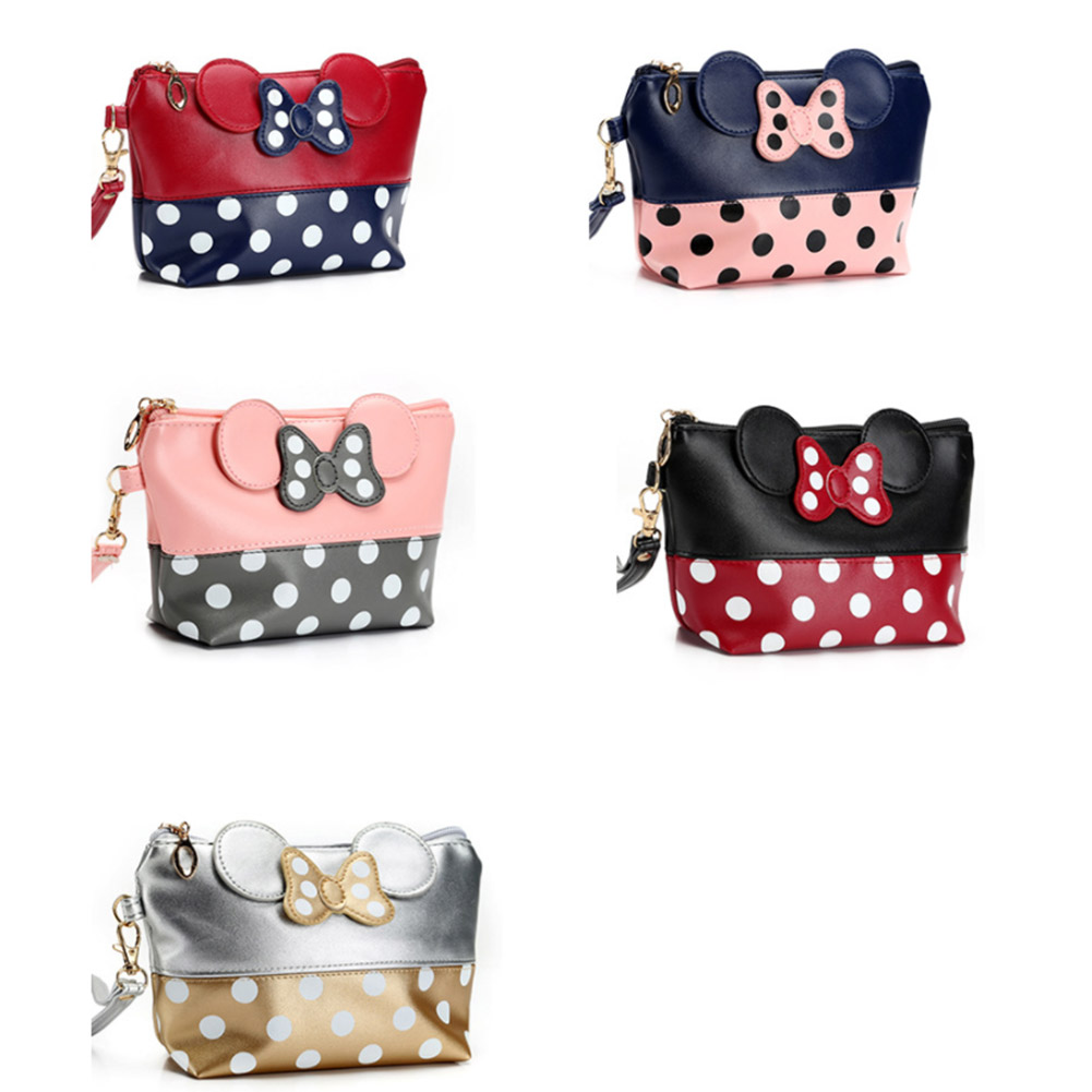 Cute Bag Comestic-Bag Handbag Purses Long-Strap Shoulder Mini Cartoon New Girls