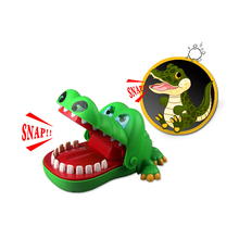 Gags Practical Jokes toy Crocodile dentist parent-child funny game Family interactive toy Gifts For boy girl Kids children fashion novelty gags toy hat cartoon chameleon lizard jokes cap masquerade christmas decoration props kids adult practical toy