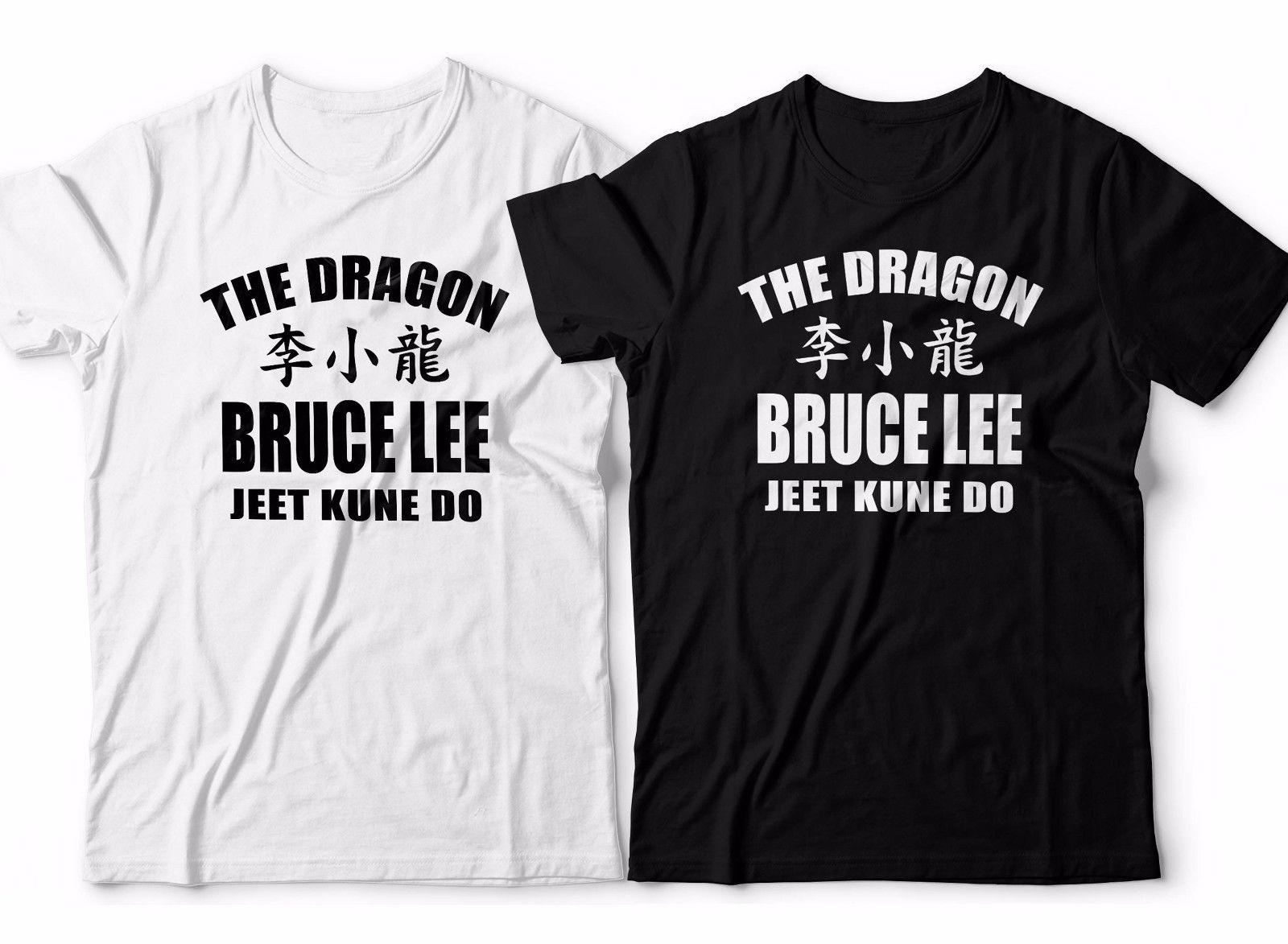 Fashion Design Free Shippings Bruce Lee <font><b>Jeet</b></font> <font><b>Kune</b></font> <font><b>Do</b></font> <font><b>T</b></font> <font><b>Shirt</b></font> Martial ART Enter The Dragon Boxer Gymer Mens Print Round Neck Man image