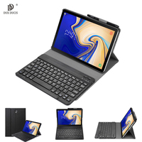 Wireless Bluetooth Keyboard Smart Tablet Cover Case For Samsung Galaxy Tab S4 T830 T835 SM T835 SM T835 Case With Pencil Holder