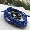 100 CM 1 par de Bloqueo sin empate lazy cordones sneaker Cordones elásticos niños seguros cordón elástico cordones zapatilla FF2SL012