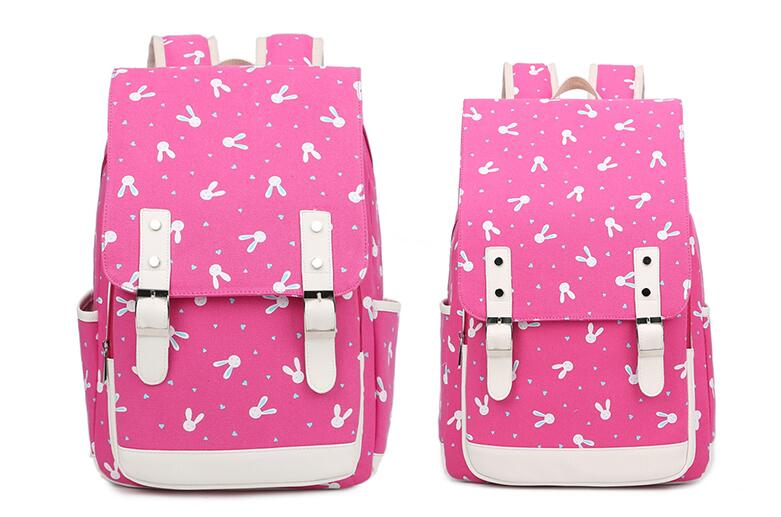 New Fashion Canvas Backpacks School Bags for Teenagers Travel Women and Men Backbag Mochila