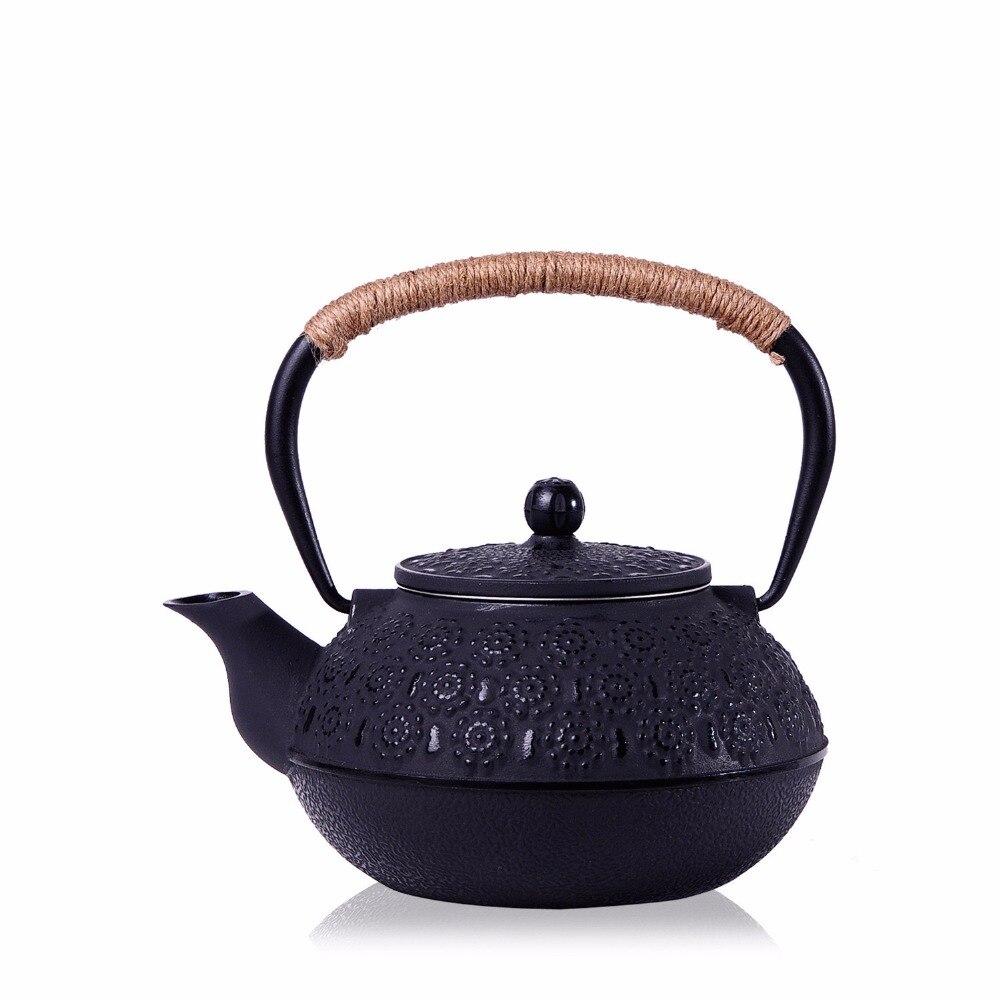 っNueva 7 chioces hierro fundido tetera set pot de té japonés ...