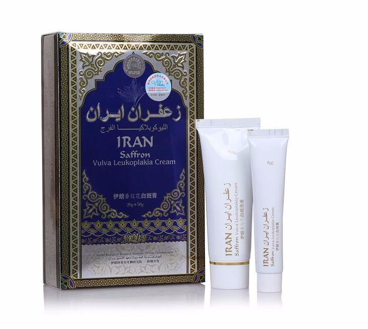 Iraniano Saffron Crema Bianco Crema Prurito Genitale Vulva Antibatterico Iran leucoplachia Antipruritic Riparazione Massaggio