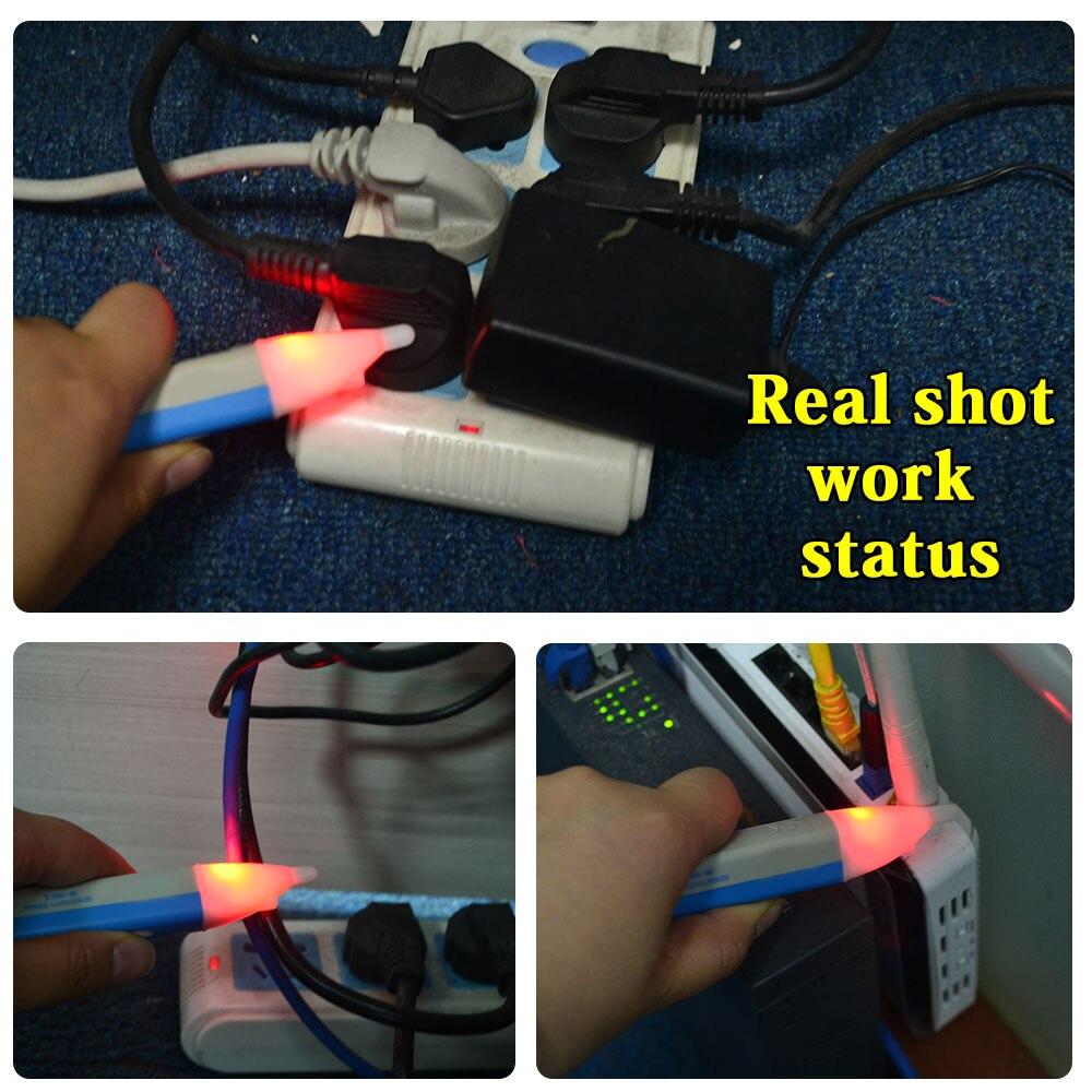 LC/_ 90 ~1000V AC LED électrique Voltage Alerte Détecteur Testeur stylo