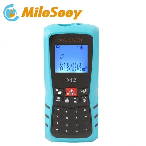 Mileseey 100M  blue laser rangefinder  M2 digital laser distance meter with rechargeable battery