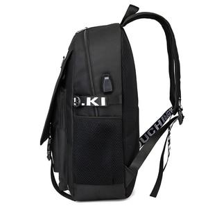 Image 5 - BPZMD Avengers Luminous Backpack Canvas Print Rucksack Laptop Backpack School for Boys USB Charging Travel Student Backpack Bag