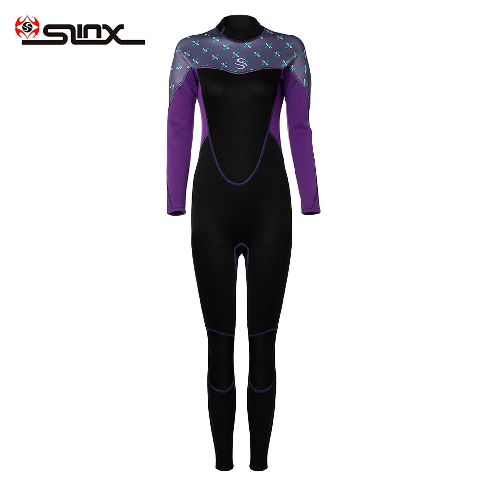 2mm Female Long Sleeves Anti-UV Warm Surfing Diving Wetsuit2mm Female Long Sleeves Anti-UV Warm Surfing Diving Wetsuit