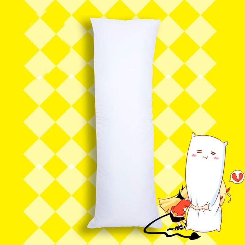 150 X 50cm Dakimakura Hugging Body Pillow Inner Insert Anime Body  Pillow Core Men Women Pillow Interior Home Use Cushion FillingBody  Pillows
