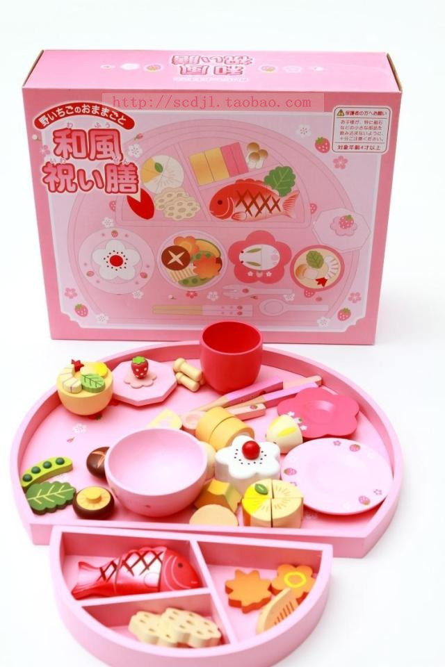 Baby Toys Mother Garden Wooden Pretend Play Toys Kids Educational Kitchen Toys Play Food Girls Lunch Toys Gift free shipping baby toys picnic basket food set wooden play food set pretend play kitchen toys gift