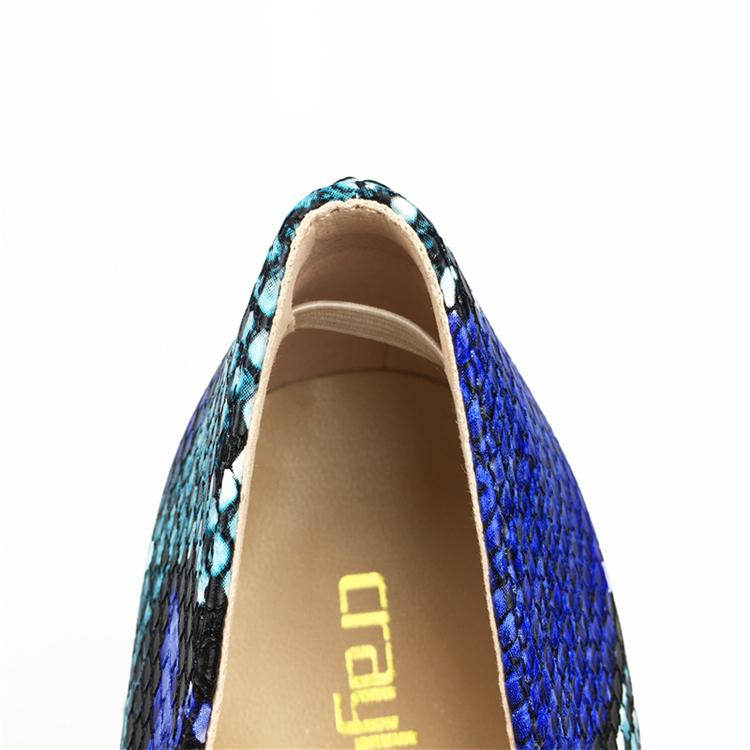 NEW Arrival Women Shoes Blue Snake Printed Sexy Stilettos High Heels Pointed Toe Women Pumps HTB10HsbbRHH8KJjy0Fbq6AqlpXa9