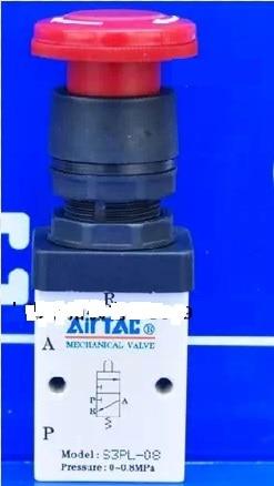 Supply AirTac genuine original mechanical valve S3PL-08. цена