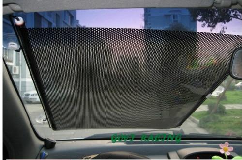 68*125cm  car Screen Front Window sun shield sun shade sun  visor pvc+metal UV solar protection curtain  car shades sv012872