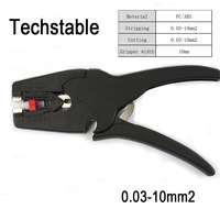 New Type Techstable LB 1 Self Adjusting Insulation Pliers Wire Stripper Range 0 03 10mm2 Stripping
