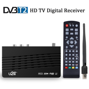 DVB-T2/DVB-T TDT TV Receiver HD Digital TV Tuner Receptor DVB T2 H.264 Terrestrial Wifi Receiver Set Top Box For Russian DVBT2(China)