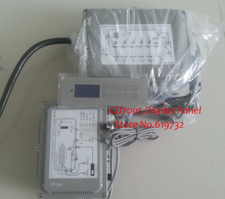hot tub controller GD-7005/GD7005 / GD 7005 full set include display keypad panel and control box romanson rm 9207q lj gd