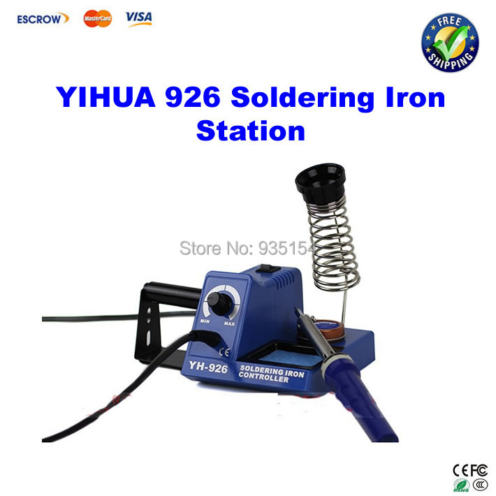 YIHUA 926 soldering iron station soler iron hot selling yihua 926 adjustable temperature electronic soldering iron station