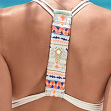 Sexy Swimming Suits Trikini For Women's Swimsuits Printing Bandage Design