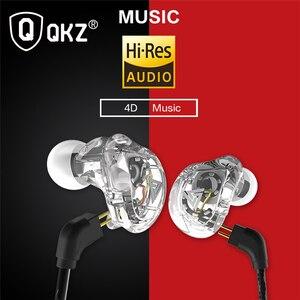 Image 4 - New QKZ VK1 4DD In Ear Earphone HIFI DJ Monito Running Sport Earphones Earplug Headset Earbud ZS10 ZS6 fone de ouvido audifonos