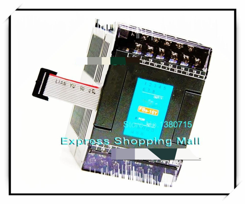 New Original FBS-16YR PLC 24VDC 16 DO relay Module new original delta dvp06sn11r dc24v plc 6do relay module